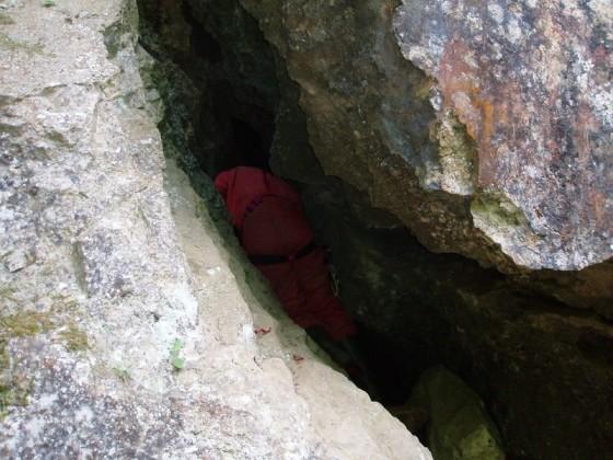 Die Schlucht-Höhle bei Mudershausen