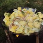 Bratkartoffeln in der Eisenpfanne (6)
