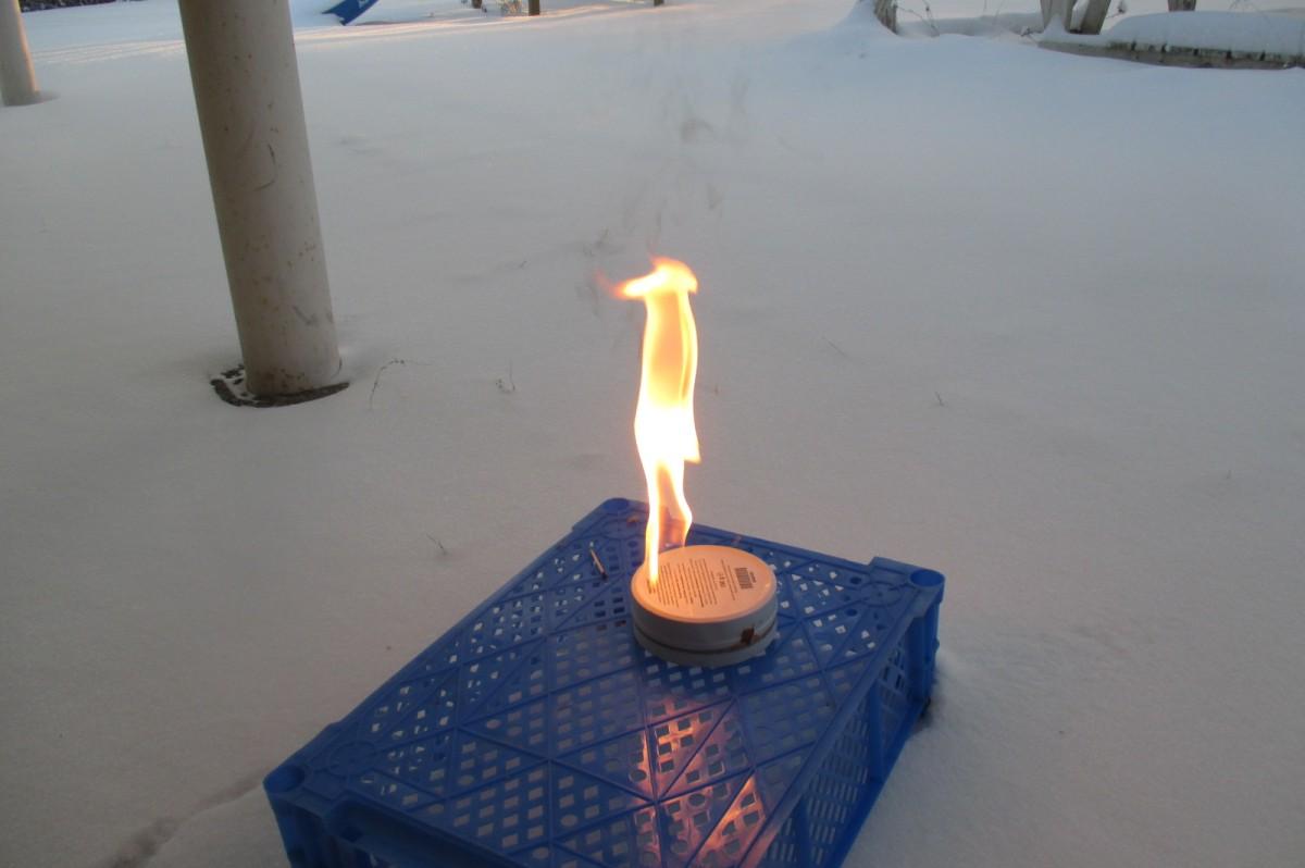 gas im Winter