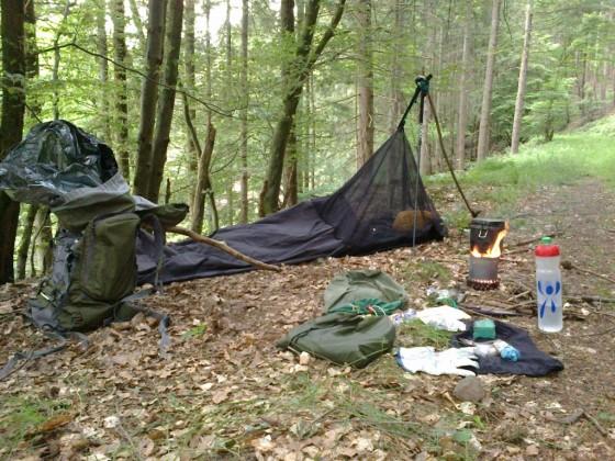Odenwald - Abendlager