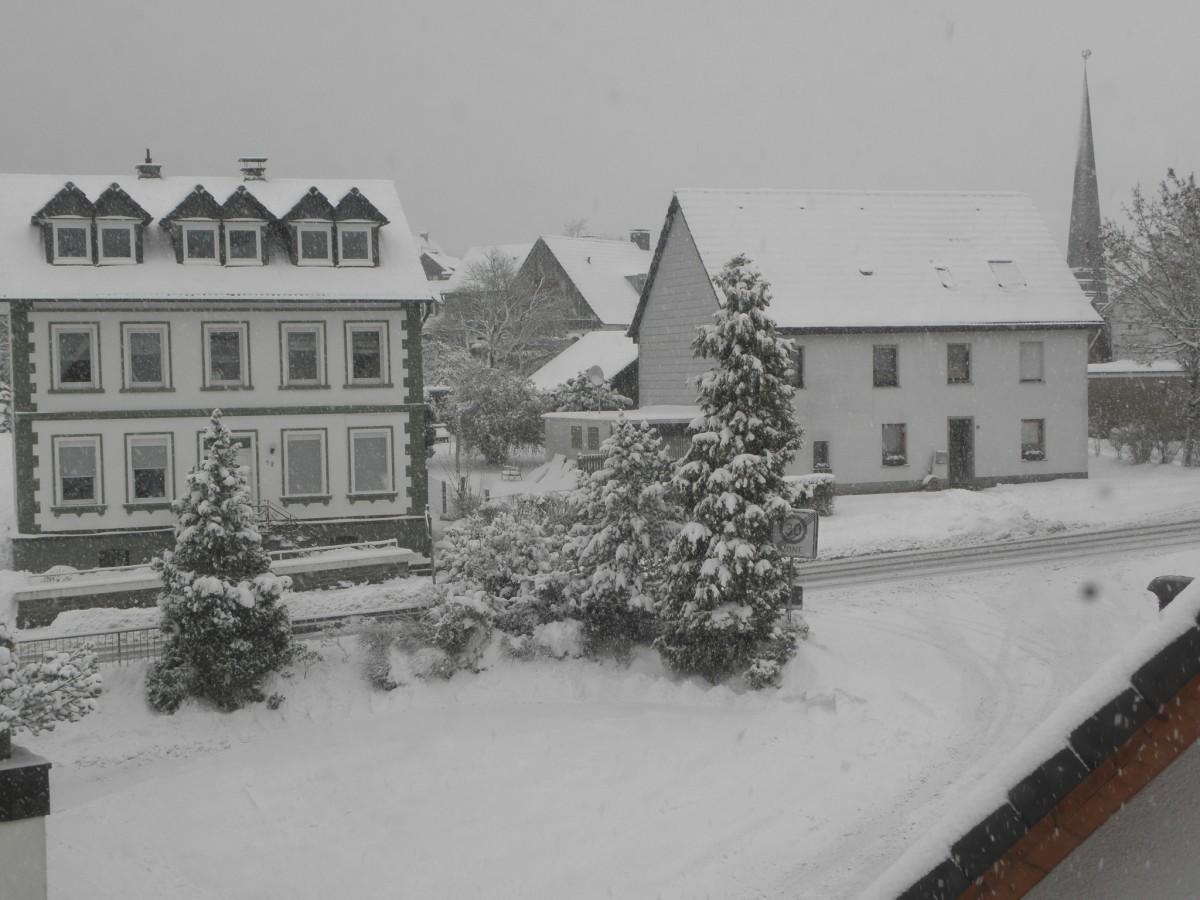 zweiter Schnee