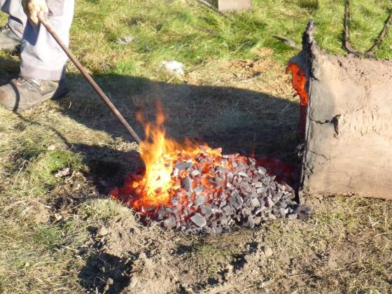 Schmelzofen Eisenzeit - Eisengewinnung
