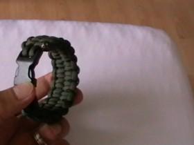 Paracord Bracelet with the blaze bar