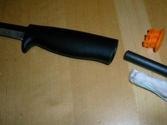 Fiskars-Messer BCP-modifiziert