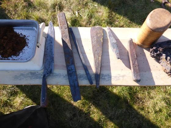 Schmelzofen primitiv Eisenzeit