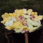 Bratkartoffeln in der Eisenpfanne (4)